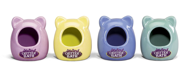 Russian Dwarf Hamster Critter Bath Colors