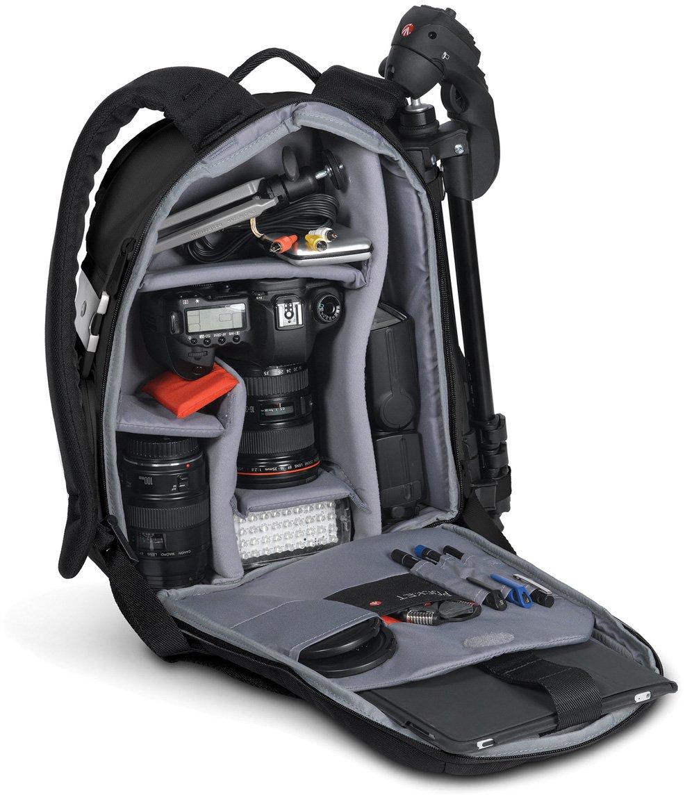 Manfrotto MB SB390-3BB Stile Veloce III - Mochila para cámaras de fotos, color negro
