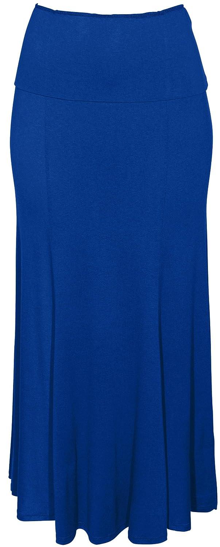 Ankle Length Skirt Fold-Over W...