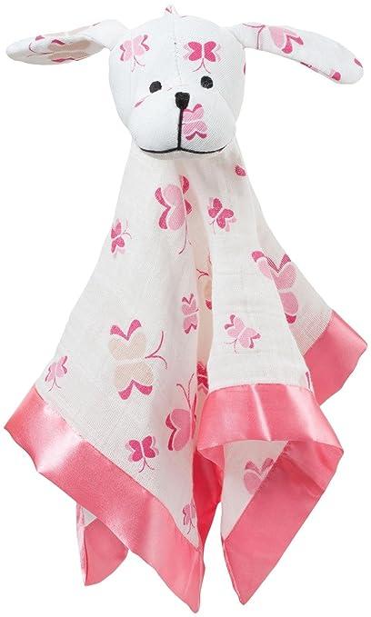 aden + anais Musy Mate Lovey Nursery Blanket, Princess Posie Butterflies/Puppy