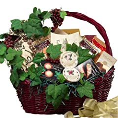 A Grand Occasion Gourmet Food Gift Basket with Smoked Salmon