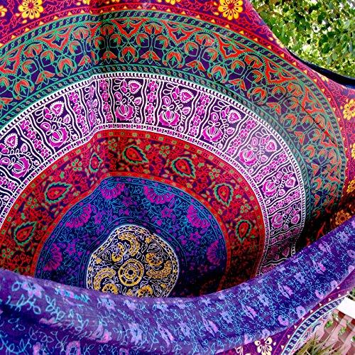 Indian Wall Hanging Hippie Mandala Tapestry Bohemian Bedspread Ethnic Dorm Decor