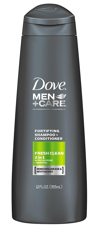 Dove Men+Care Fresh Clean 2 in 1 Shampoo + Conditioner 12 Ounce