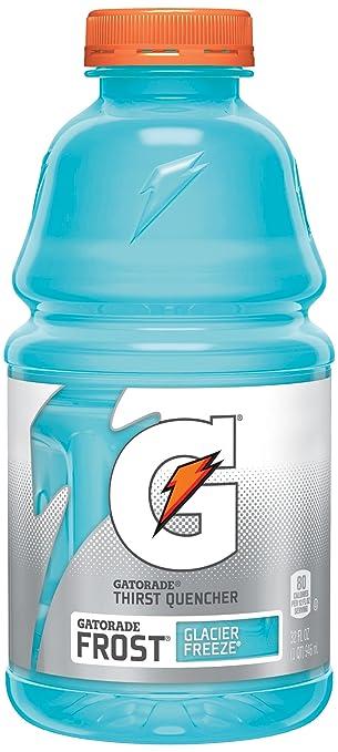 Gatorade Frost Thirst Quencher, Glacier Freeze, 32 oz