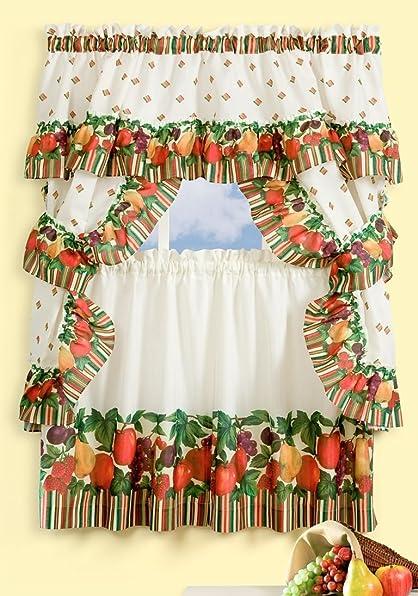 Tuttie Frutie Cottage Curtains