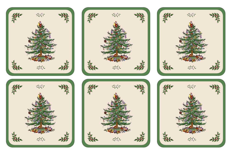 Christmas Tree Coasters