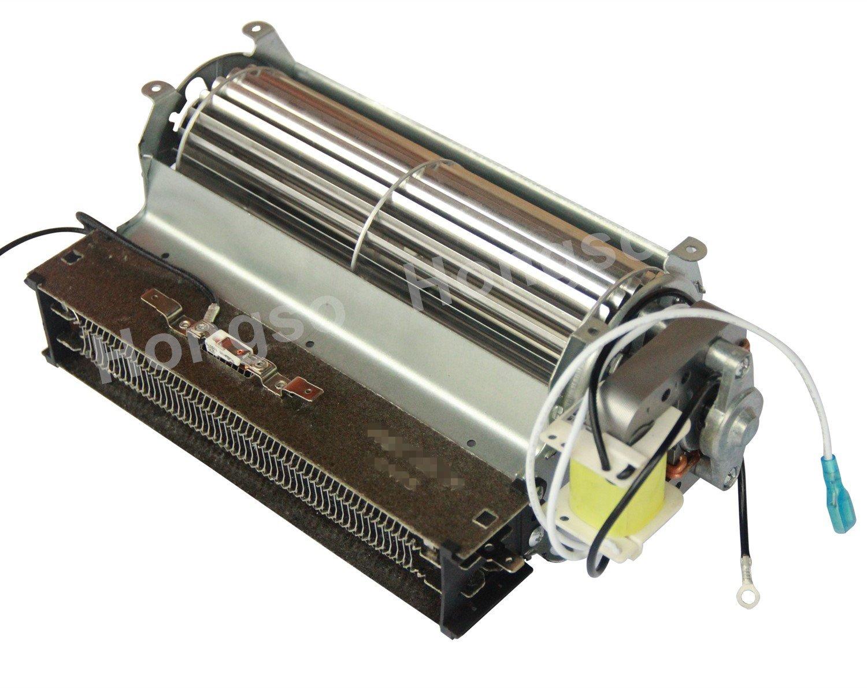 electric fireplace blower fan heating element for twin star