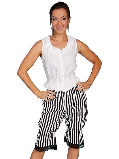 Steampunk Women's Pants & Bloomers Stripe Bloomers  AT vintagedancer.com
