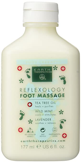Earth Therapeutics Reflexology Foot Massage Lotion