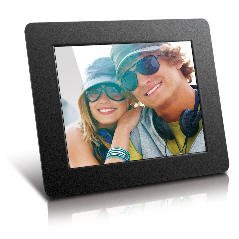 Aluratek ADPF08SF 8-Inch Digital Photo Frame -800x600 Hi Resolution ...