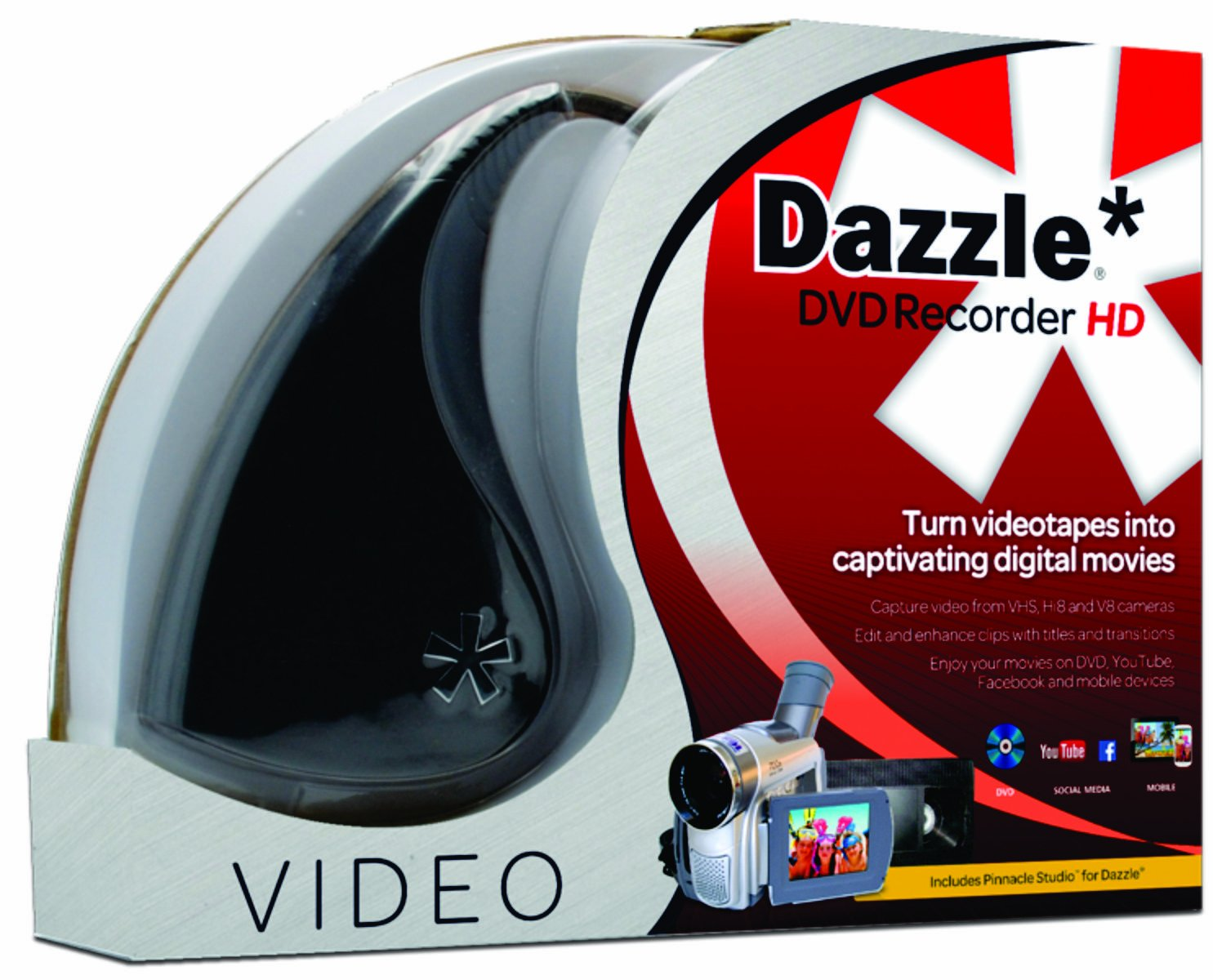 dazzle dvd recorder hd vhs to dvd converter 798631825511. Black Bedroom Furniture Sets. Home Design Ideas