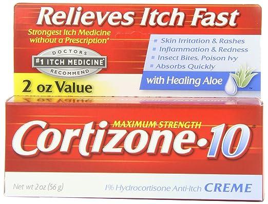 Cortizone-10 Max Strength Cortizone-10 Crme, 2 Ounce Box