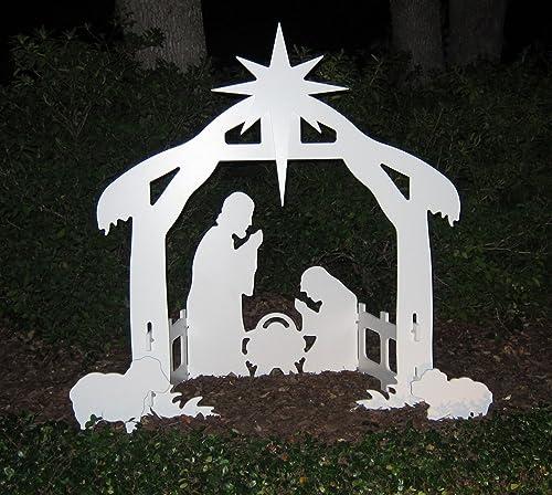 Christmas Outdoor Yard Nativity Scene