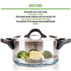 Premium Vegetable Steamers Basket