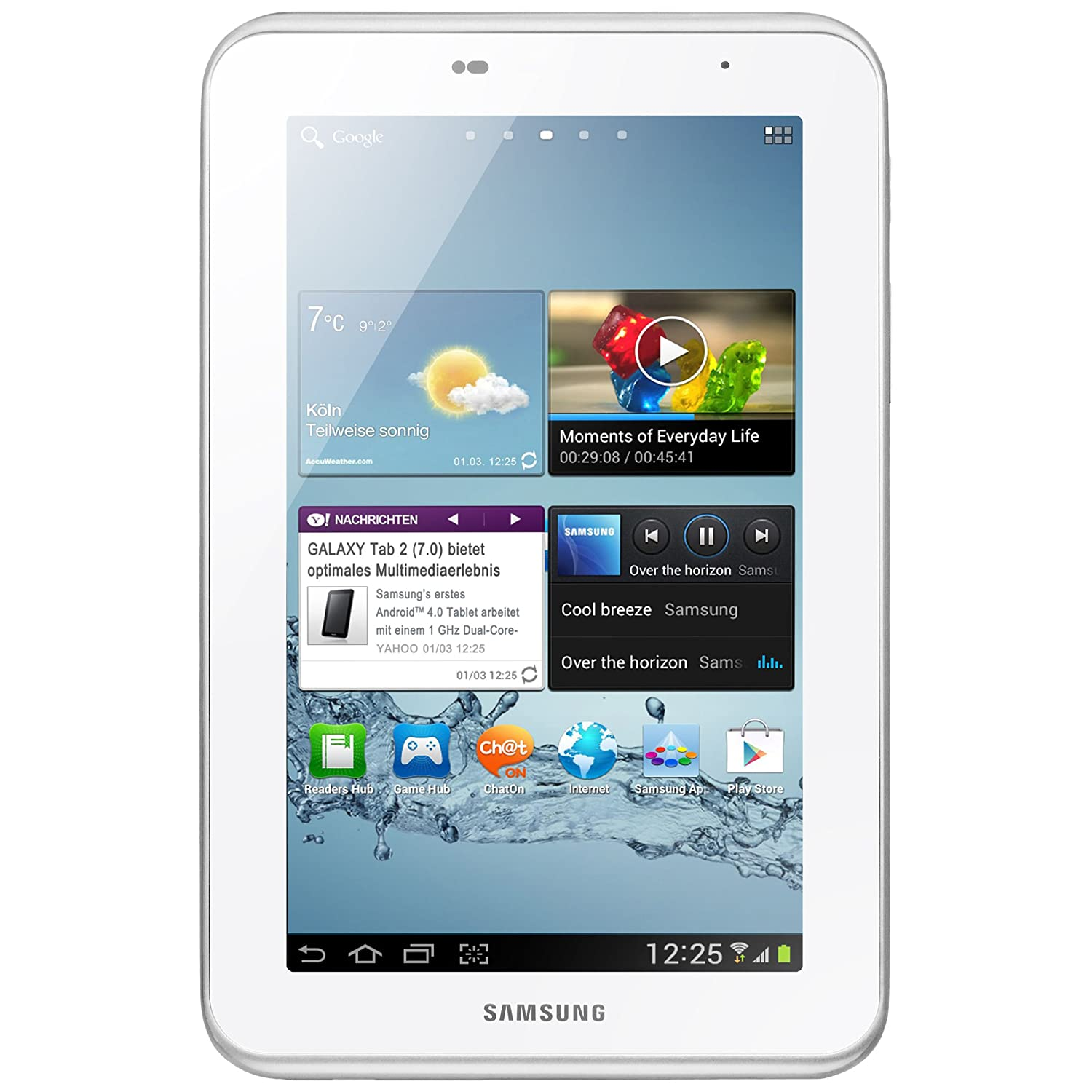 Samsung Galaxy Tab 2 P3100 Tablet 3G + Wi-Fi, Display da 17.8 cm (7 Pollici)