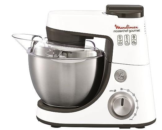 Descuento en Moulinex Masterchef Gourmet Silver - Robot de cocina, 900 W, bol de 4 l en Amazon