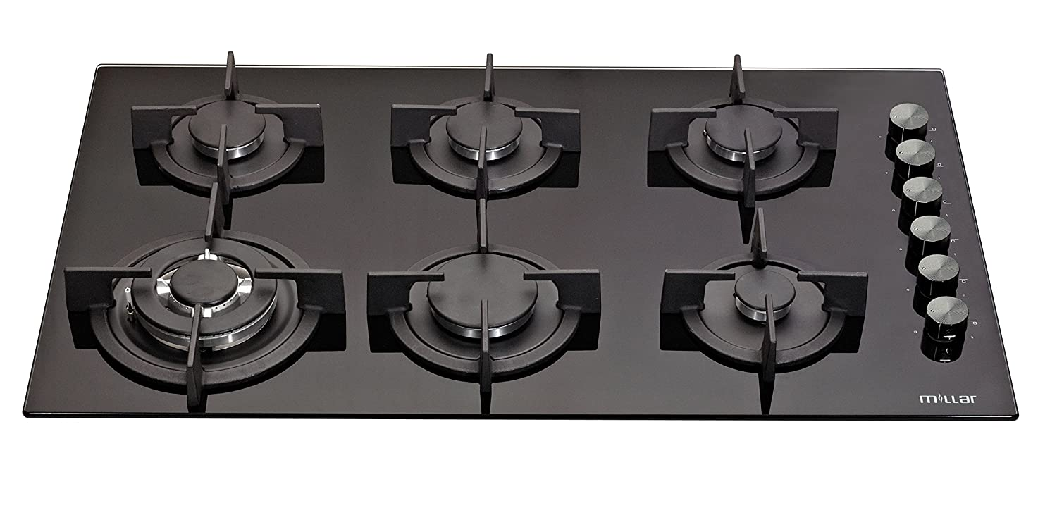 Burner Gas Glass Hob Cm