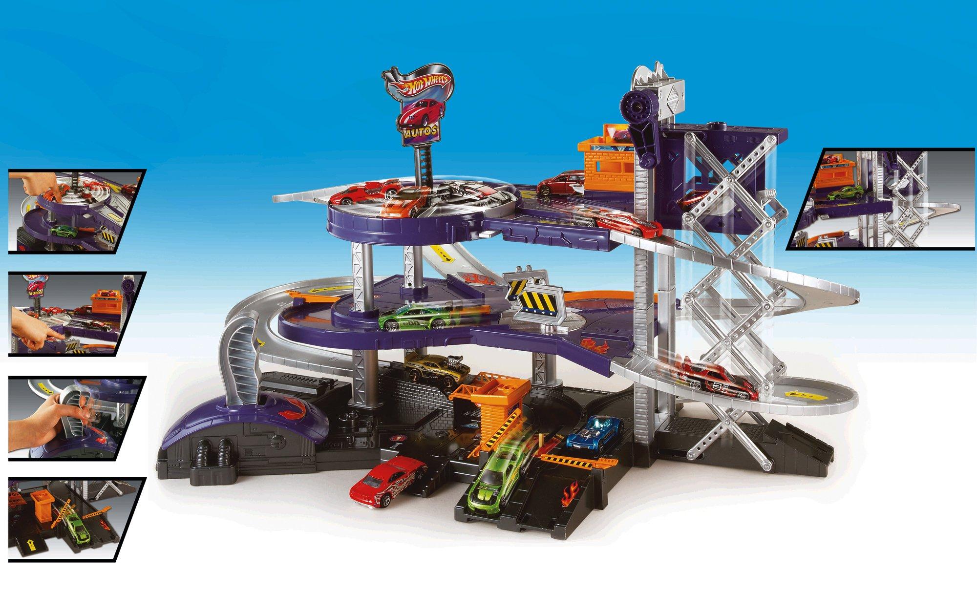 Mattel hot wheels mega garage playset mattel v3260 ebay for Garage auto city cadaujac