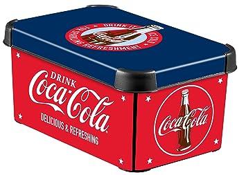 Curver 215568 Boite Deco Stockholm Taille S Decor Coca Cola