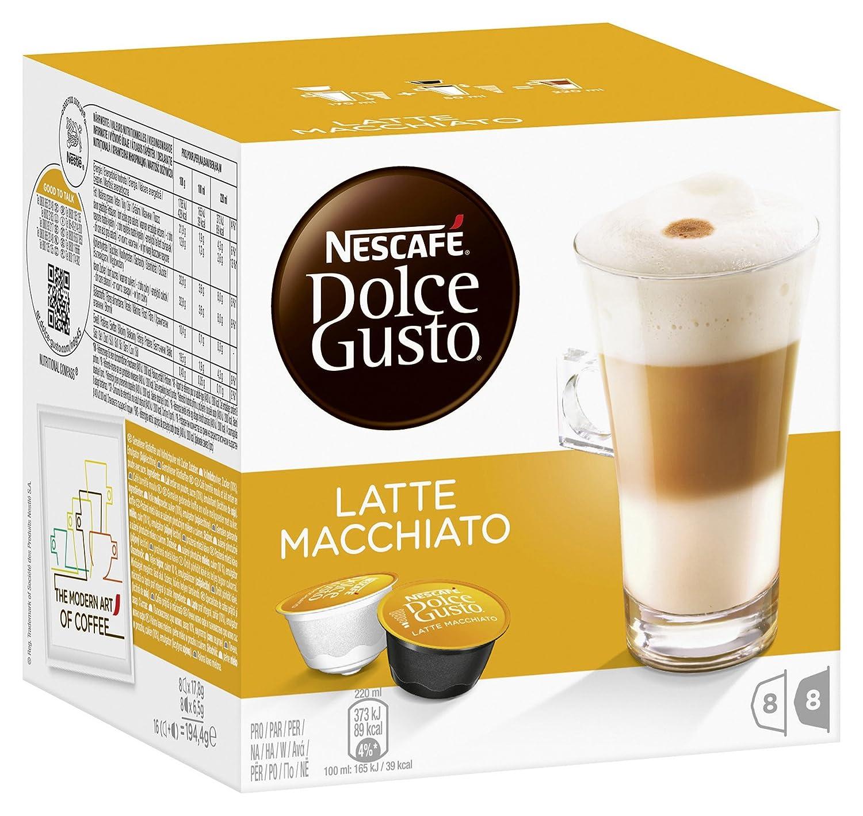 Nescafe dolce gusto pods cappuccino or latte macchiato - Porte capsules dolce gusto ...