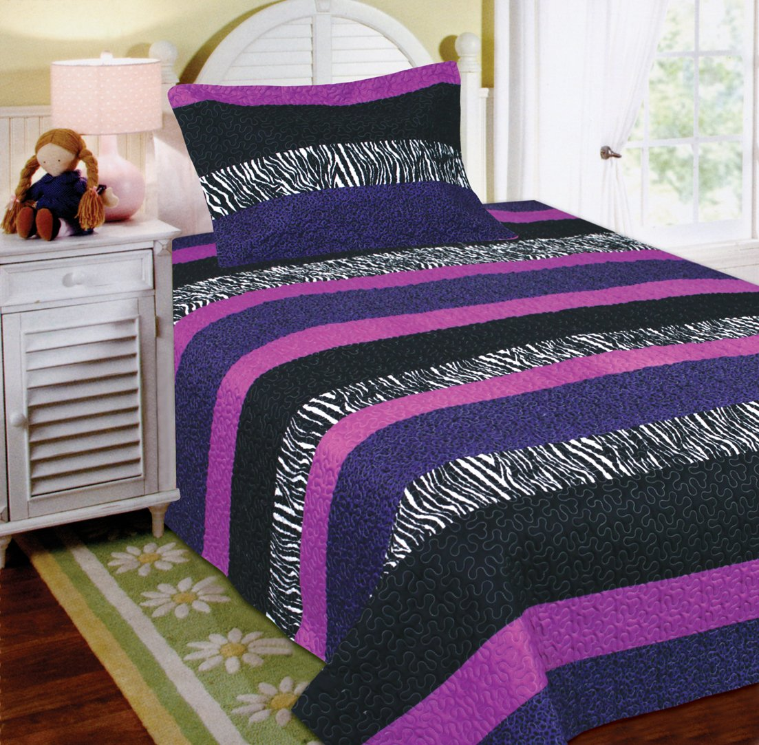 Design Bedding For Teens teen girl bedding and sets ease with style mk collection 2 pc bedspread teensgirls zebra leopard purple pink white black twin size