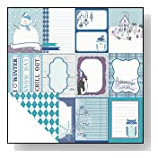 Echo Park Winter Wishes Cut Apart Journal Cards