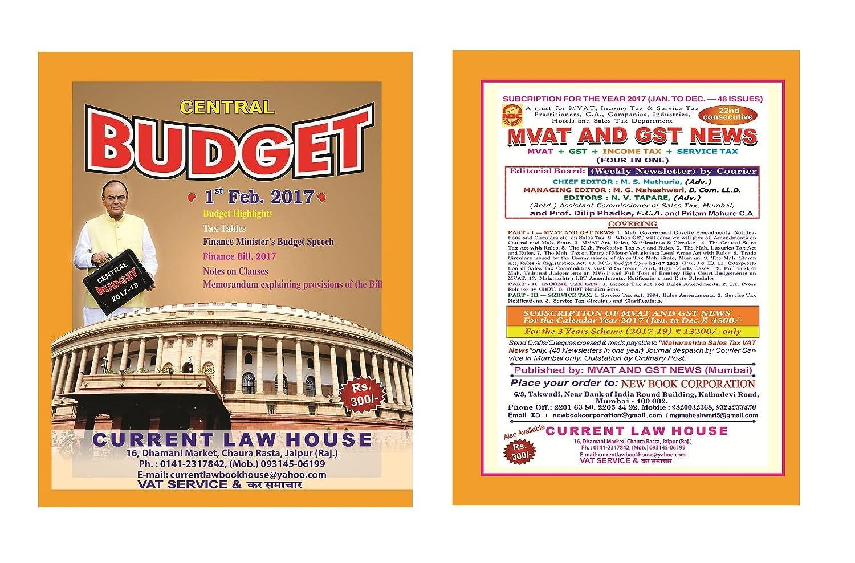 Budget Speech 2017 -18