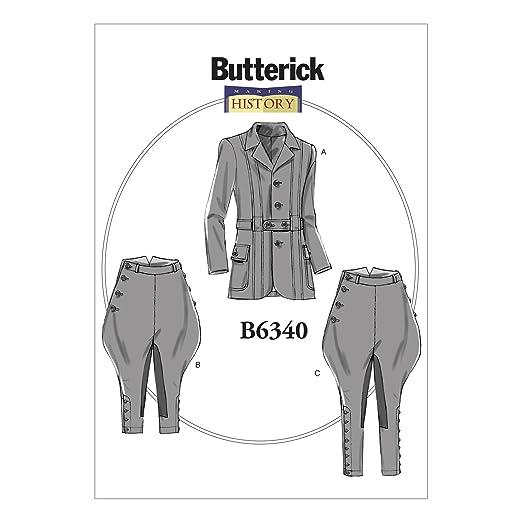 1920s Patterns – Vintage, Reproduction Sewing Patterns  Banded Jacket Breeches & Jodhpurs XM (Small-Medium-Large) $9.99 AT vintagedancer.com