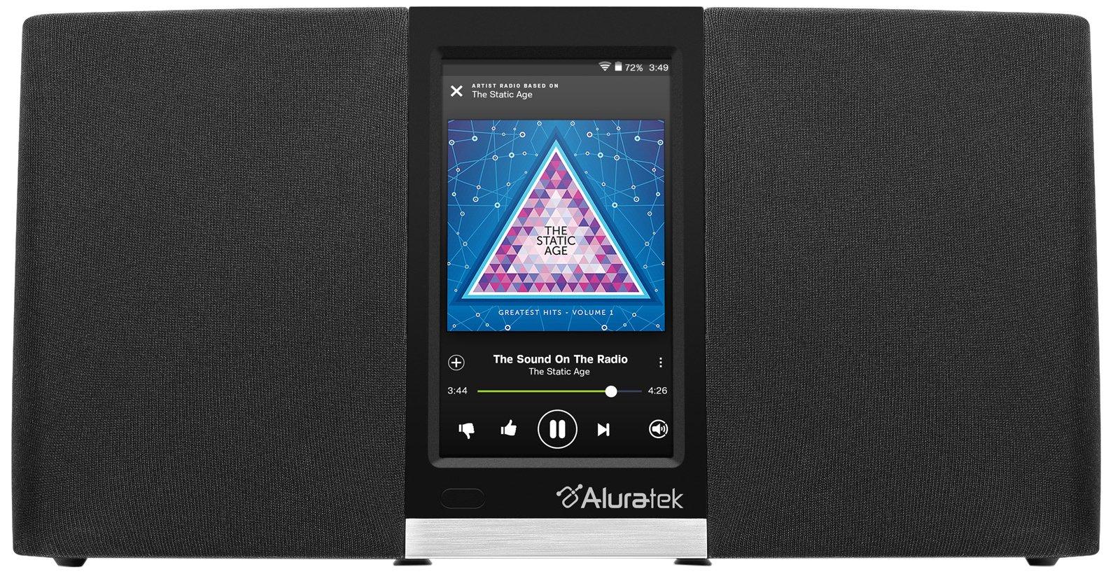Aluratek AIRMM03F Wi-Fi Internet Radio Streaming Pandora Slacker iHeart Spoti…