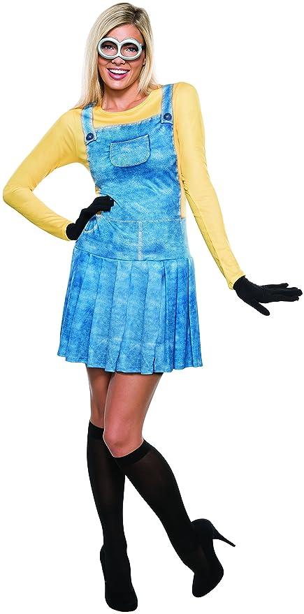 Female Minion Minions Mania Despicable Me Dress Womens Halloween ...
