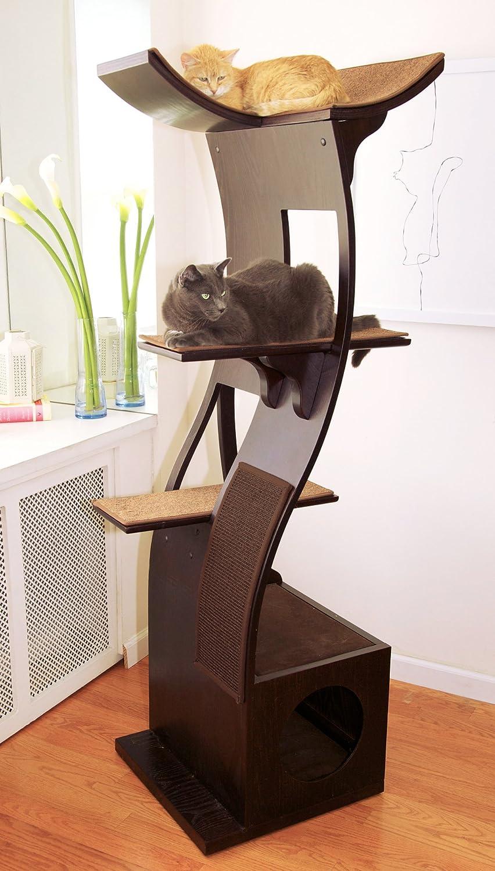 Best Cat Tree Without Carpet Ideas - Cool Cat Tree Plans