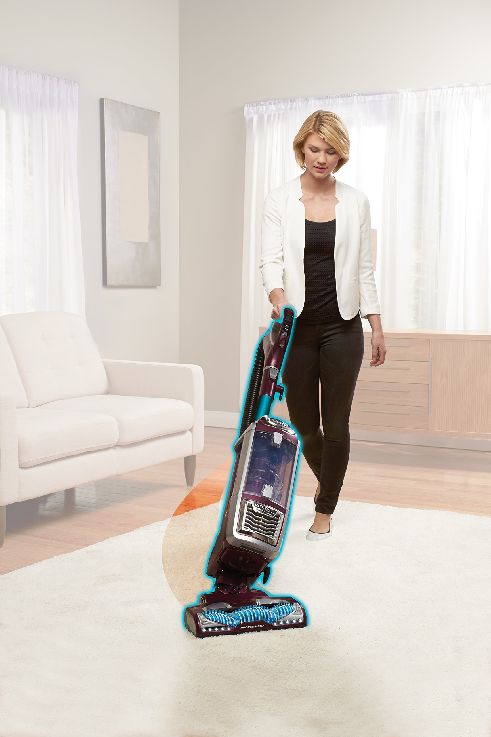 Powered lift away motorized brush in lift away deep clean with extreme under furniture reach