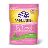 Wellness Small Breed Complete Health Dry Dog Food Bag for Toy breed, 4-Pound