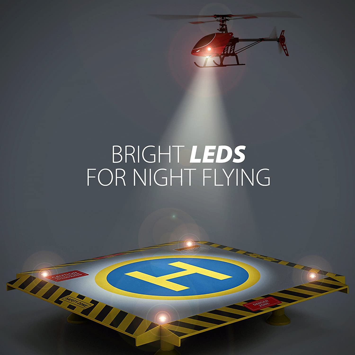 Remote control helicopter landing pad