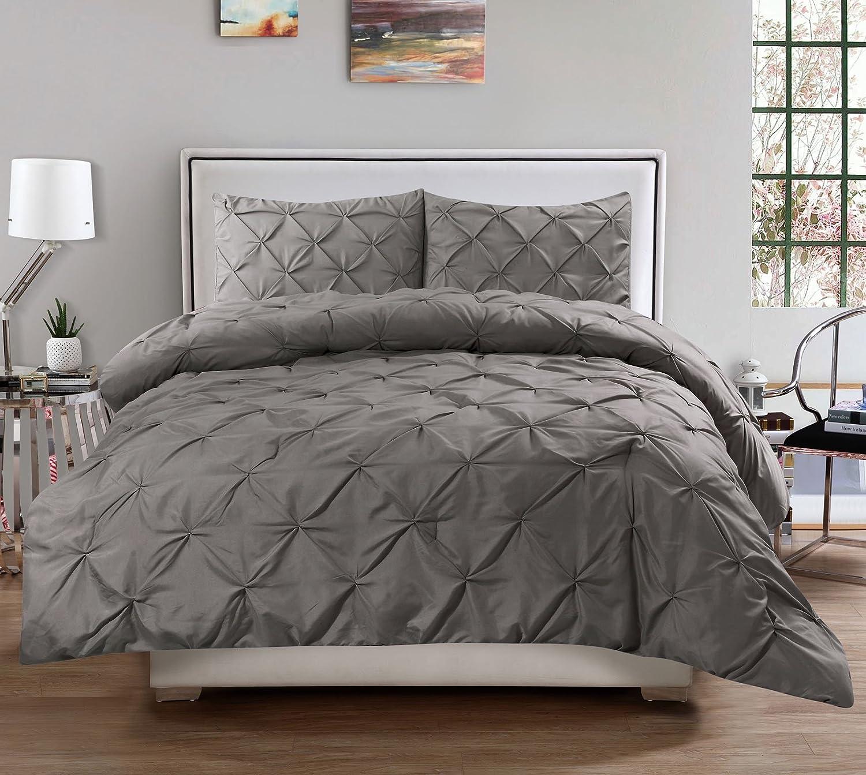 King Comforter Sets Gray Milena Gray 7 Pc Fullqueen