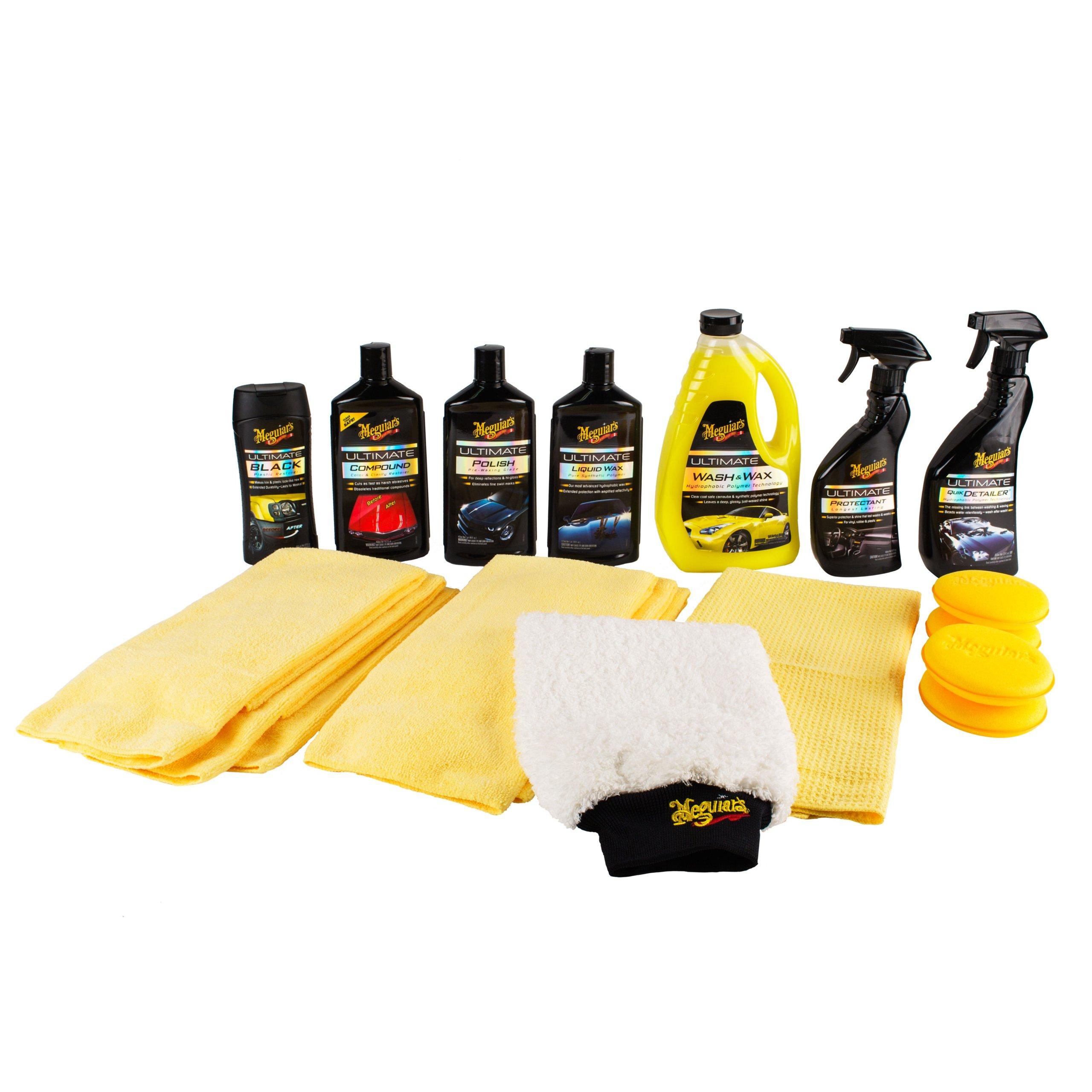 Car Wash Kit >> Meguiar's G55048 Ultimate Car Care Kit 6391847627975 | eBay
