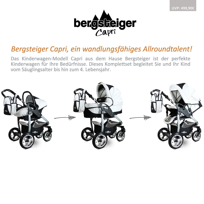 Bergsteiger Capri Kombikinderwagen 3 in 1