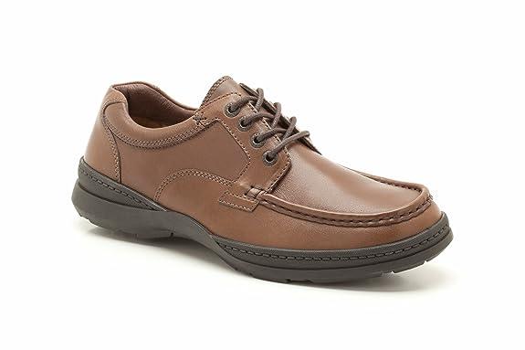 Clarks Line Day Walnut Leather