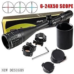 FSI Sniper 6-24x50mm Scope W front AO Adjustment