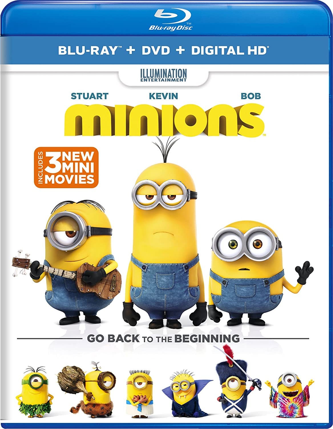 Minions 'The Competition' Short Movie 2
