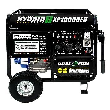 DuroMax Duel Fuel Generator