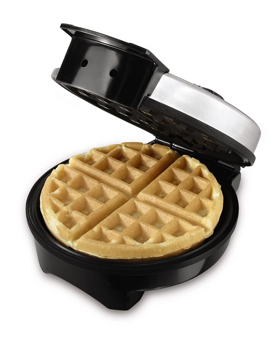 Space Friendly Waffle Maker With Cooking Temperature Control