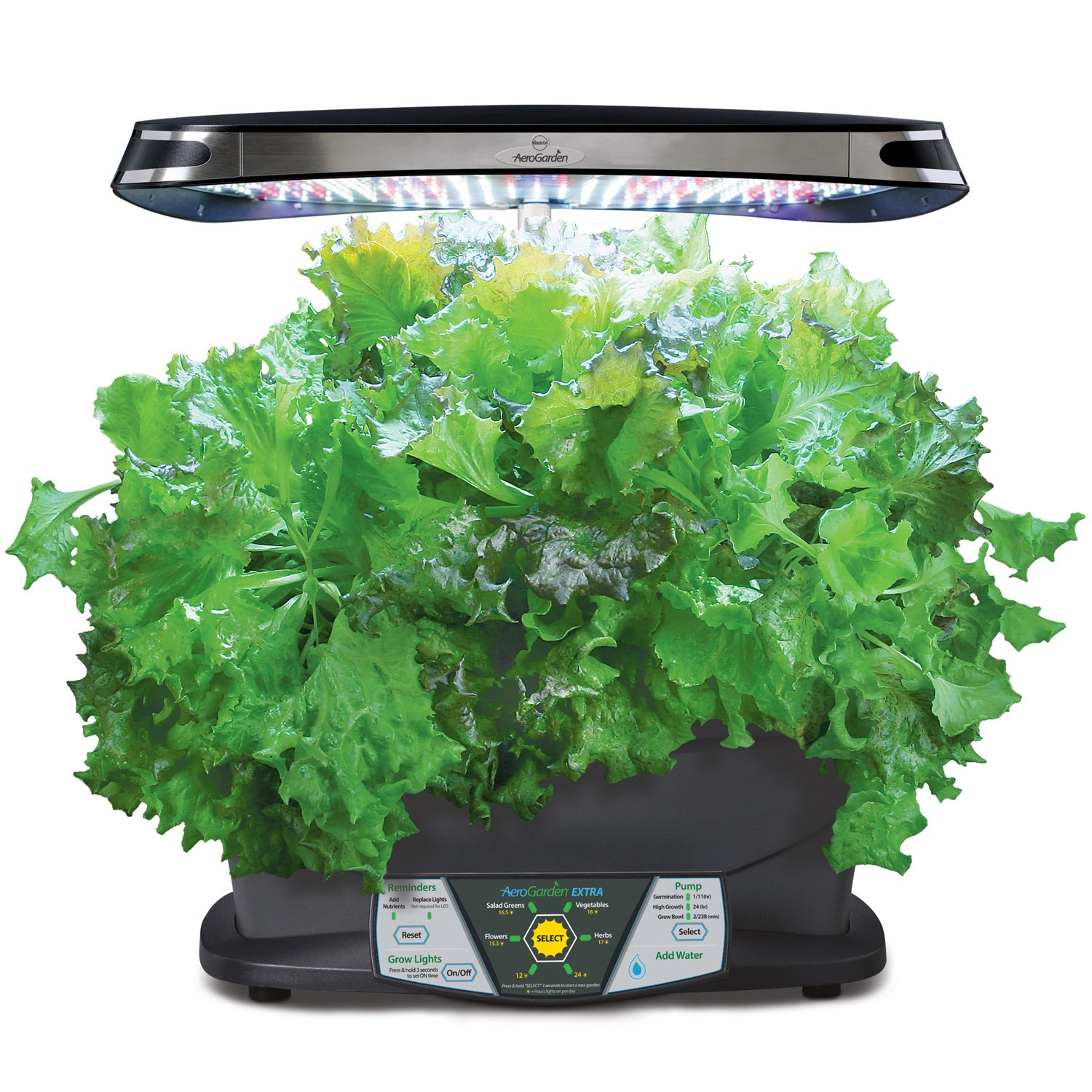 indoor herb garden kit miracle gro aerogarden led indoor garden with 28782