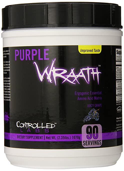 Best pre workout for Crossfit #3 - Controlled Labs Purple Wraath