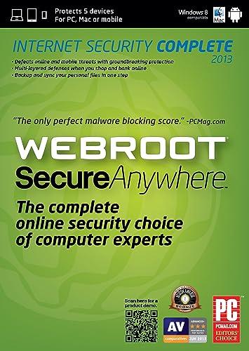 Amazon: Webroot SecureAnywhere...