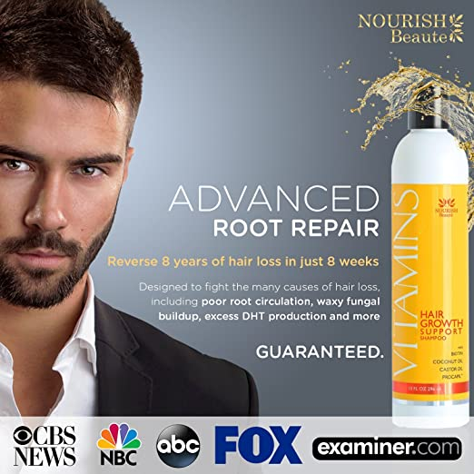 Advanced Root Repair - Hair Growth Shampoo for men