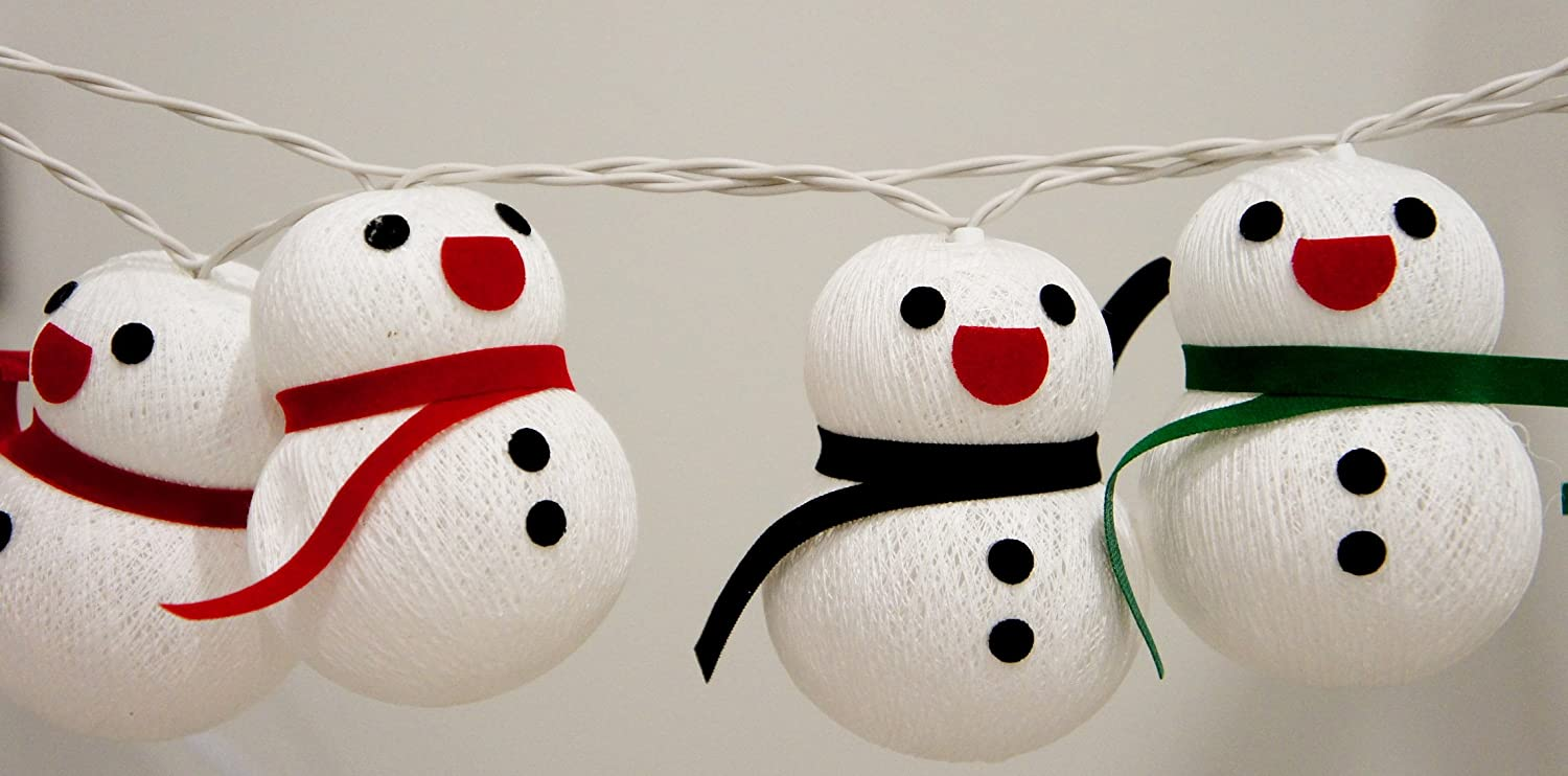 Snowman Party Lights