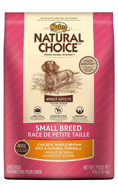 Natural choice small breed dog food