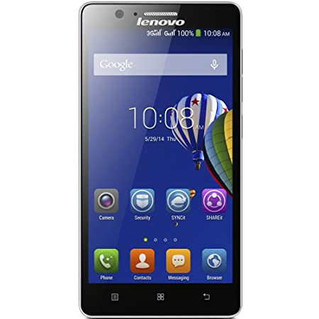 Lenovo A536 5-Inch Android Smartphone (Black)