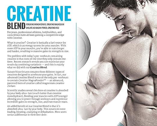 octane creatine blend